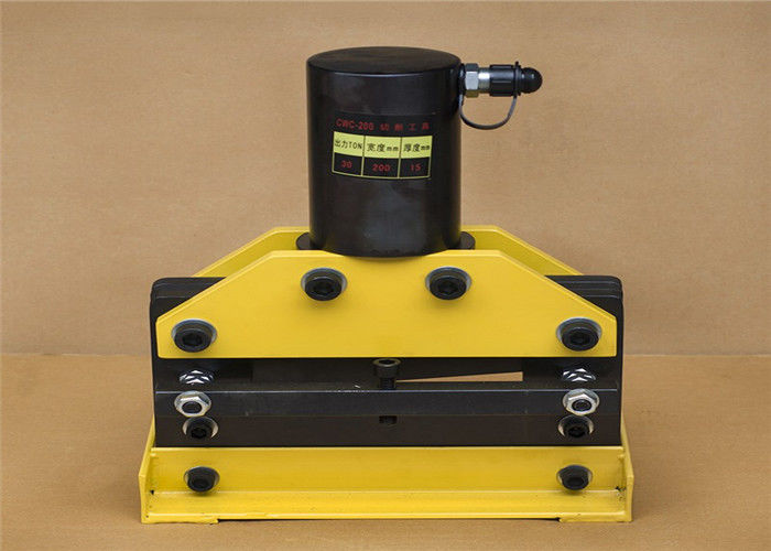 Precision 750w Portable Copper Cutting Machine With 12x200mm Cutting Ability