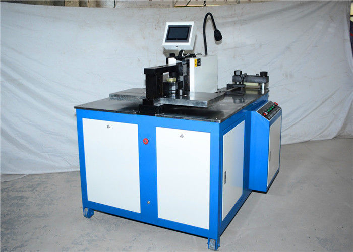 CNC Busbar Copper / Aluminum Cutting Machine With Hand Operate Or Foot Operate